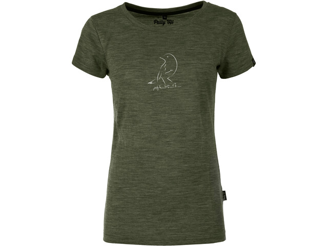 Pally'Hi Bird T-Shirt Women, heather moss